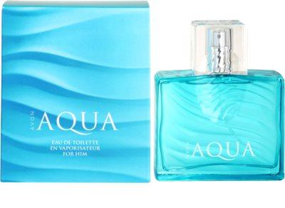 Avon Aqua eau de toilette férfiaknak
