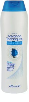 Avon Advance Techniques Anti-Dandruff champô para todos os tipos de cabelos