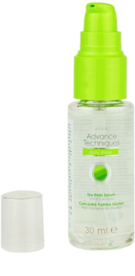 Avon Advance Techniques Daily Shine sérum para todos os tipos de cabelos 2