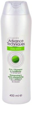 Avon Advance Techniques Daily Shine szampon do wszystkich rodzajów włosów