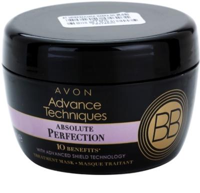 Avon Advance Techniques Absolute Perfection BB maszk a tökéletes megjelenésű hajért