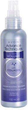 Avon Advance Techniques Ultimate Volume spray para cabello fino y lacio 1