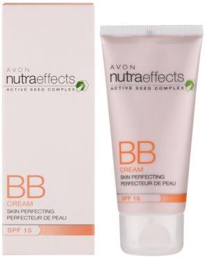 Avon Nutra Effects BB Cream BB Creme für makellose Haut SPF 15 1