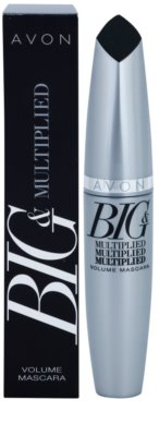 Avon Big & Multiplied tusz do rzęs zwiększający objętość i pogrubiający 2