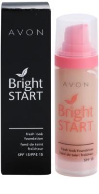 Avon Bright Start make-up pentru luminozitate SPF 15 2