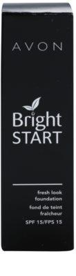 Avon Bright Start make-up pentru luminozitate SPF 15 3