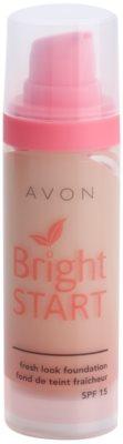 Avon Bright Start base iluminadora SPF 15