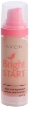 Avon Bright Start make-up pentru luminozitate SPF 15