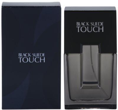 Avon Black Suede Touch eau de toilette para hombre