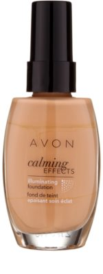 Avon Calming Effects Illuminating beruhigendes Make up zur Verjüngung der Gesichtshaut 1