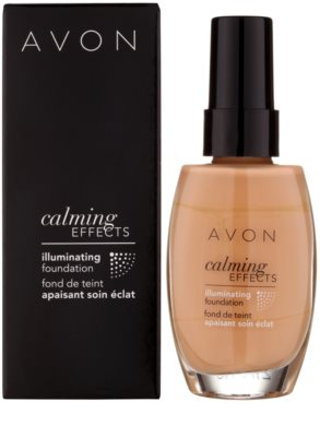 Avon Calming Effects Illuminating beruhigendes Make up zur Verjüngung der Gesichtshaut 2