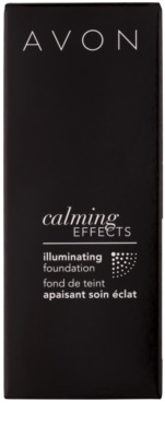 Avon Calming Effects Illuminating beruhigendes Make up zur Verjüngung der Gesichtshaut 3