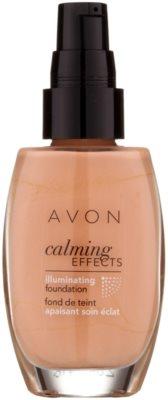 Avon Calming Effects Illuminating pomirjajoči tekoči puder za osvetlitev kože 1