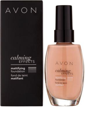 Avon Calming Effects Mattifying maquillaje calmante de acabado mate 2