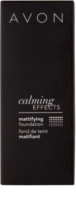 Avon Calming Effects Mattifying maquillaje calmante de acabado mate 3