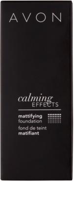 Avon Calming Effects Mattifying zklidňující makeup pro matný vzhled 3