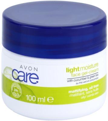 Avon Care освіжаючий гелевий крем з екстрактом огірка та зеленого чаю