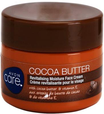 Avon Care crema facial hidratante revitalizadora  con manteca de cacao