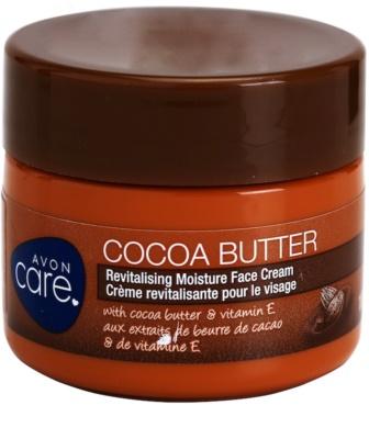 Avon Care creme hidratante e revitalizante de rosto com manteiga de cacau