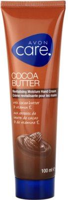 Avon Care revitalizacijska vlažilna krema za roke s kakavovim maslom in vitaminom E