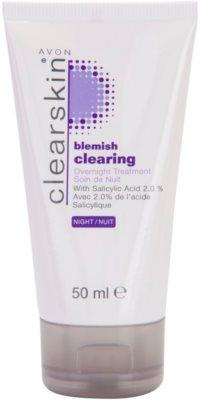 Avon Clearskin  Blemish Clearing Nachtpflege gegen Akne