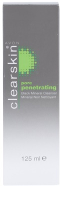 Avon Clearskin  Pore Penetrating gel limpiador con minerales negros 2
