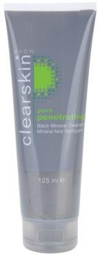 Avon Clearskin  Pore Penetrating почистващ гел с черни минерали