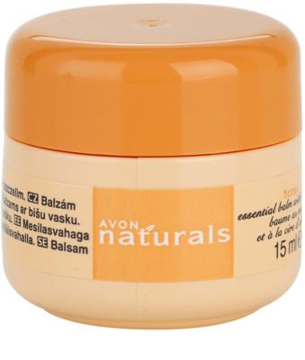 Avon Naturals Essential Balm Balsam mit Honig
