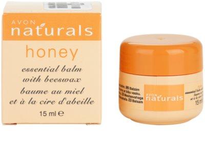 Avon Naturals Essential Balm Balsam mit Honig 2