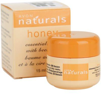 Avon Naturals Essential Balm Balsam mit Honig 3