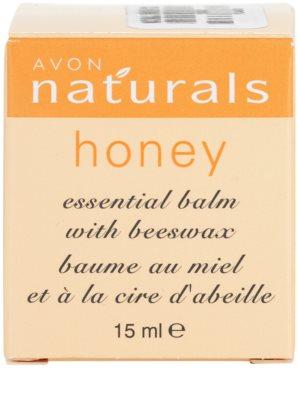 Avon Naturals Essential Balm Balsam mit Honig 4