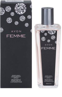 Avon Femme desodorizante vaporizador para mulheres