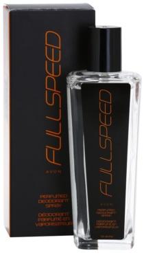 Avon Full Speed deodorant s rozprašovačom pre mužov 1