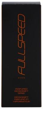 Avon Full Speed deodorant s rozprašovačom pre mužov 4