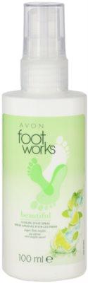 Avon Foot Works Beautiful spray refrescante para pés com lima e açúcar de cana