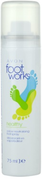 Avon Foot Works Healthy pršilo za noge