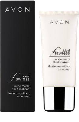 Avon Ideal Flawless mattító make-up 1