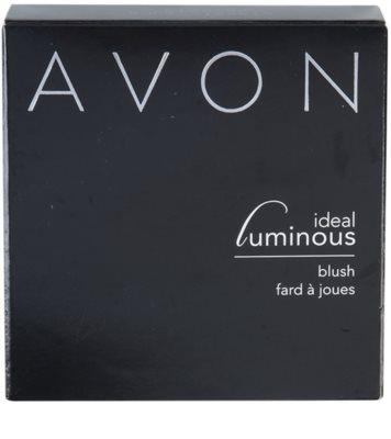 Avon Ideal Luminous Blush pudrová rozjasňující růž 4