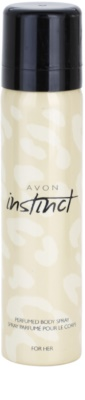Avon Instinct for Her pršilo za telo za ženske