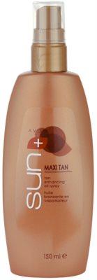 Avon Sun Self Tan aceite intensificador de bronceado  en spray