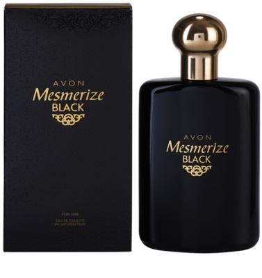 Avon Mesmerize Black for Him Eau de Toilette für Herren