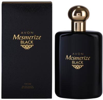 Avon Mesmerize Black for Him Eau de Toilette para homens