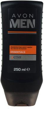 Avon Men Essentials освежаващ душ гел