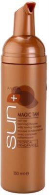 Avon Sun Magic Tan önbarnító hab testfeszesítő komplex 1