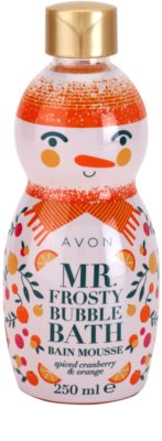 Avon Mr. Frosty pena do kúpeľa s vôňou