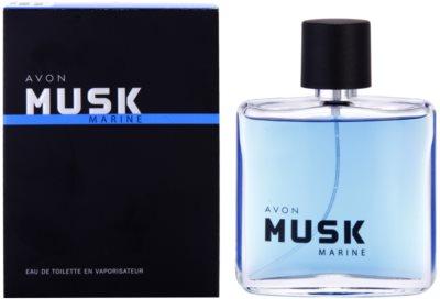 Avon Musk Marine eau de toilette férfiaknak