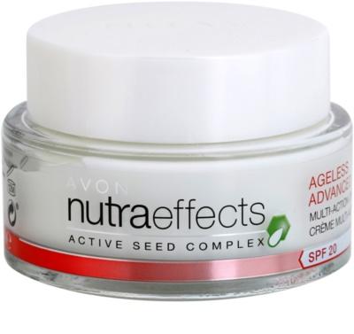 Avon Nutra Effects Ageless Advanced crema de día intensiva con efecto rejuvenecedor SPF 20