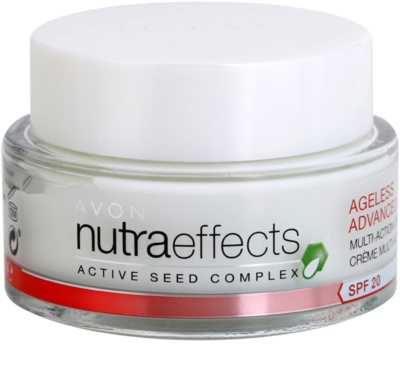 Avon Nutra Effects Ageless Advanced Crema de zi intensiva cu efect de intinerire SPF 20