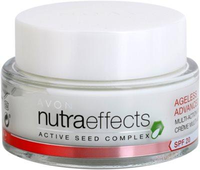 Avon Nutra Effects Ageless Advanced creme de dia intensivo com efeito anti-envelhecimento SPF 20