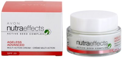 Avon Nutra Effects Ageless Advanced intensive Tagescreme mit verjüngender Wirkung SPF 20 2